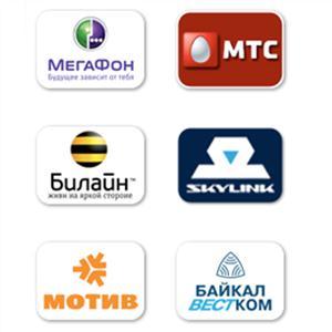 Операторы сотовой связи Красноборска
