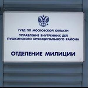 Отделения полиции Красноборска