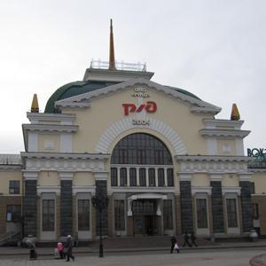 Железнодорожные вокзалы Красноборска